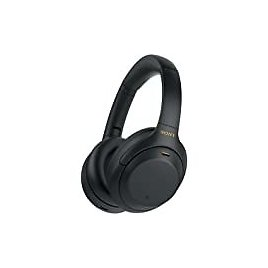 Sony WH-1000XM4 Wireless Industry Leading Noise Canceling Overhead Headphones with Mic for Phone-Call and Alexa Voice Control, Black: Electronics