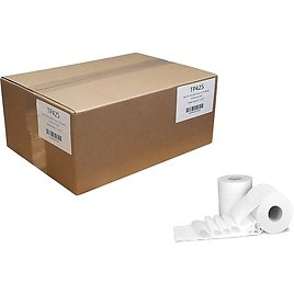 54%OFF! Von Drehle Professional 1-Ply Standard Toilet Paper, White, 1275 Sheets/Roll, 24 Rolls/Case (TP425)