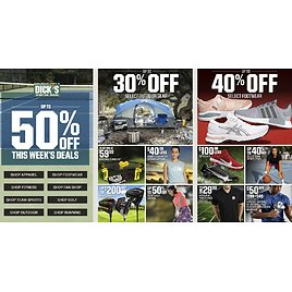 Dick's Sporting Goods Weekly Ad