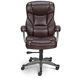 High-Back Bonded Leather Manager Chair