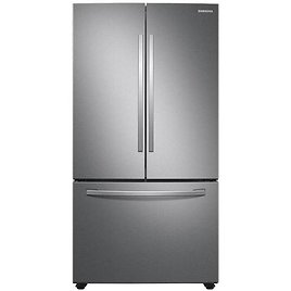 Samsung 28.2-cu Ft French Door Refrigerator with Ice Maker (Fingerprint Resistant Stainless Steel) ENERGY STAR