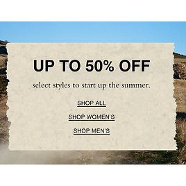 Up To 50% Off Summer Styles- Coach