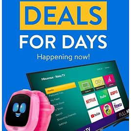 """""""Deals for Days"""" Happening Now!"""