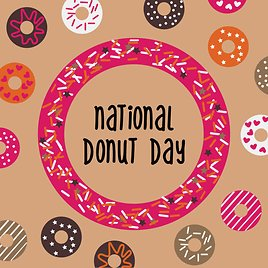 2021 National Doughnut Day Deals and 'hole'-some Fun