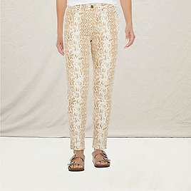 Womens High Rise Skinny Ankle Jean
