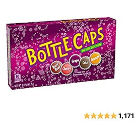 10-pack of Bottle Caps Theatre Box Candy