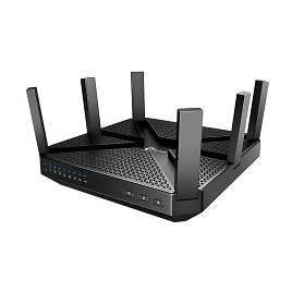 TP Link Archer Tri Band MU MIMO 802.11ac Wireless Gateway Router Archer C4000 - Office Depot