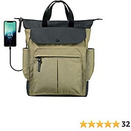 NINETYGO 15.6 Laptop Backpack for Women Stylish, Fashion Travel Bags with USB Charging Port, College Style Laptop Backpack for Women & Teacher Work Laptop Bag