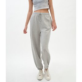 Baggy High-Rise Cinched Sweatpants