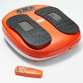 45% OFF! Power Legs Vibrating Foot Massager Platform with Acupressure