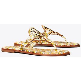 Miller Sandal, Printed Leather: Women's Shoes | Sandals | Tory Burch