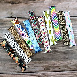 Printed Apple Watch Bands | 4 Pack