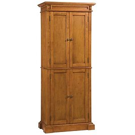 HomeStyles 72-inch Distressed Oak Pantry