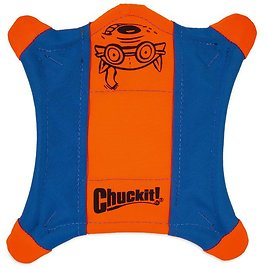 CHUCKIT! Flying Squirrel Dog Toy, Color Varies, Medium - Chewy.com