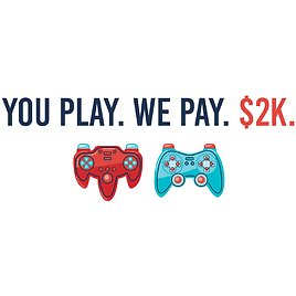 Get Paid $2,000 to Play Video Games