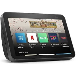All-new Echo Show 8 (2nd Gen, 2021 Release)   HD Smart Display with Alexa and 13 MP Camera   Charcoal / White