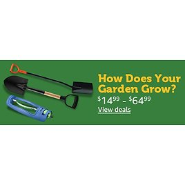 Garden Tools Clearance Sale