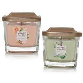 Small Square Candles ( Various Types) Yankee Candle