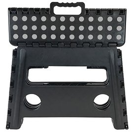 Core Pacific 12 Inch Step Stool Black with Gray Dots Core Pacific 12 Inch Step Stool Black with Gray Dots Core Pacific 12 Inch S