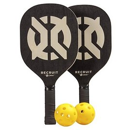Recruit By ONIX Pickleball Starter Set for All Ages and Levels