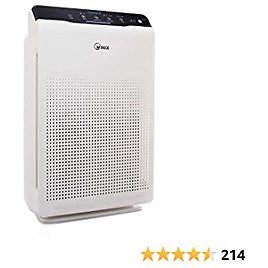 WINIX ZERO Air Purifier with 4 Stage Filtration, Air Cleaner That Captures Pollen, Smoke and Fine Dust, Suitable for Large Rooms Up to 99m²