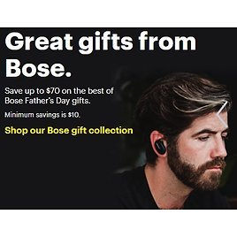 Up to $70 Off Great Gifts from Bose