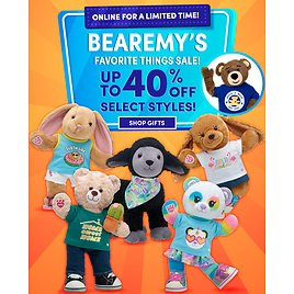 Up to 40% OFF! Bearemy's Favorite Things Sale