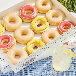 Limited Time! Lemonade Donuts for Your 'Main Squeeze'!