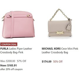 Summer Color Crossbody Sale Up to 57% Off + 20% Off Select Bags
