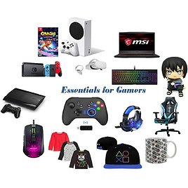 """Amazon Top """"Essentials for Gamers"""""""