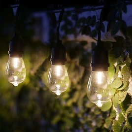 Wireless Vintage Edison Style String LED Lights With Timer