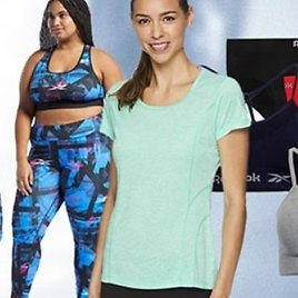 Up to 72% Off Reebok Women's Apparel