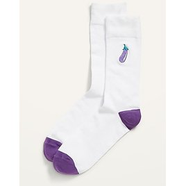 Old Navy Embroidered Graphic Statement Socks for Men