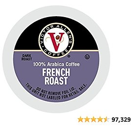 Victor Allen Coffee, French Roast Single Serve K-cup, 80 Count, 28.22 Oz (Compatible with 2.0 Keurig Brewers) - Amazon