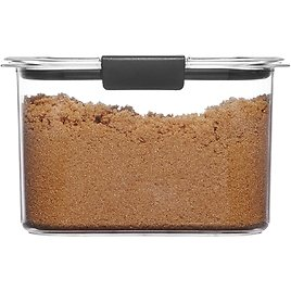 7.8 Cup Rubbermaid Brilliance Airtight Food Storage Container
