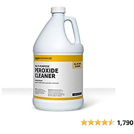 AmazonCommercial Multi-Purpose Peroxide Cleaner, Concentrate, 1-Gallon, 1-Pack