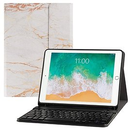 TopEtech 2019 Ultra Slim and Lightweight Case and Detachable Magnetic Bluetooth Keyboard (Your Choice: Model)