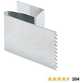 Prime-Line S 5100 Hurricane Board-Up Clips, Fits 1/2 In. Thick Plywood, Zinc-Plated Steel, For Brick, Wood & Stucco, Pack of 20,Black