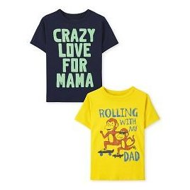 Toddler Boys Short Sleeve Family Graphic Tee 2-Pack | The Children's Place
