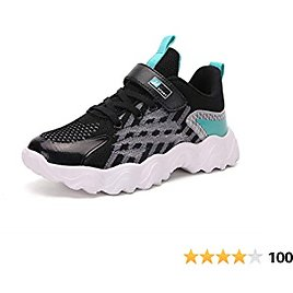 Kids Running Shoes Boys Girls Fashion Sneakers Breathable Lightweight Tennis Athletic Walking Shoe