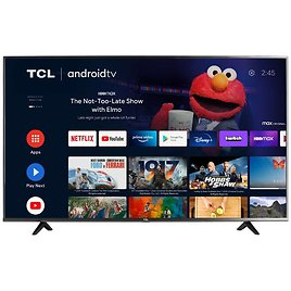 TCl 55-inch LED 4K UHD Smart Android TV