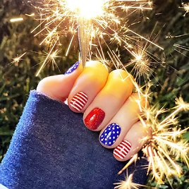 4th of July & Summer Nail Wraps