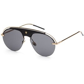 78% OFF Christian Dior Women's Gold and Black Sunglasses