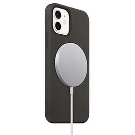Apple IPhone 12/ 12 Pro Black Silicone Case And MagSafe Charger