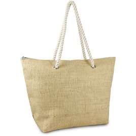 Magid Women's Straw Beach Tote Bag with Rope Handle
