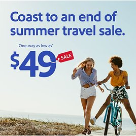 Summer Sale From $49 | Southwest Airlines