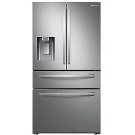 """36"""" French Door 28 Cu. Ft. Smart Refrigerator with FlexZone Drawer and Wi-Fi"""