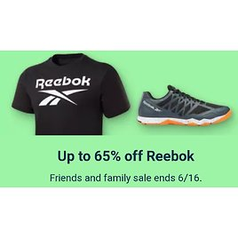 Up to 65% Off Reebok Friends and Family Sale - Ebay