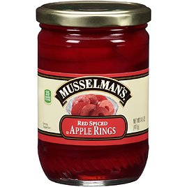Musselman's Red Spiced Apple Rings, 14.5 Oz