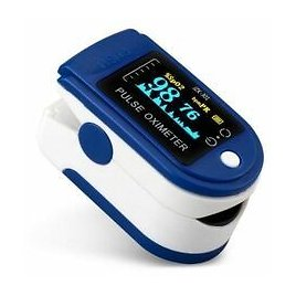 Pulse Oximeter & Blood Oxygen Saturation Monitor